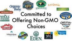 Over 400 Companies Who Aren't Using GMOs In Their Products -