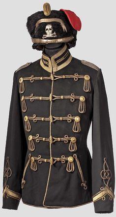 "Tunic from the 1st Life Hussars ""Totenkopf"""