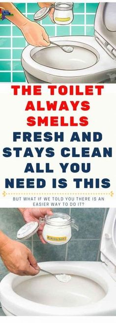 The Toilet Always Smells Fresh And Stays Clean. All You Need Is This Household Cleaning Tips, Toilet Cleaning, Bathroom Cleaning, Deep Cleaning, Spring Cleaning, Cleaning Hacks, Household Cleaners, Cleaning Recipes, Bathroom Organization