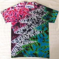 Lightning Bolt Tie Dye Shirt - Lightning Bolt Tie Dye Shirts are made fully  custom to aa875a033