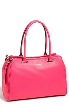 $448 [kensington leather tote] #fashion #purse #pink