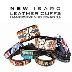 New leather Isaro cuffs are now available. Great prices, check them out only at jillgolden.com!