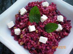 Das perfekte Salat. Buchweizensalat-Rezept mit Bild und einfacher Schritt-für-Schritt-Anleitung: Buchweizengrütze aufkochen  und ausquellen lassen