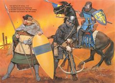 Medieval Scandinavian Armies - The Battle of Hova, Osprey Publishing Medieval World, Medieval Knight, Medieval Armor, Medieval Fantasy, Renaissance Time, High Middle Ages, Knight Armor, Military History, Illustrations