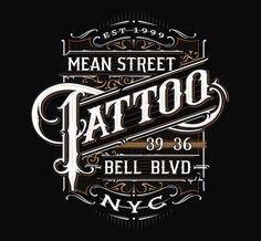 Tattoo Parlours on Behance