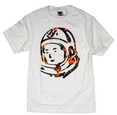 BILLIONAIRE BOYS CLUB Camo Helmet in White B0712T107, Free Shipping at CelebrityModa.com