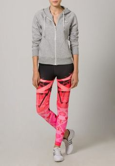 adidas Performance - Tights - neon pink