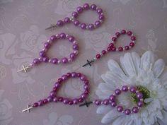 DIY: Faça você mesma, lembrancinhas, tercinhos, dezenas, rosary, chaplet.