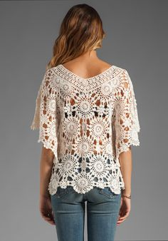 Crochet tunic PATTERN designer crochet tunic by FavoritePATTERNs