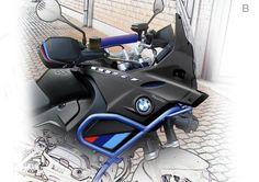 """Výsledok vyhľadávania obrázkov pre dopyt Kit Carenatura """"Pharaon"""" per BMW R 1150 GS"""