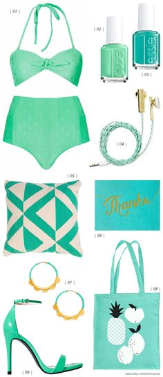 Color Crush: Mint + Turquoise