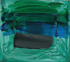 Paintings · Artworks · Howard Hodgkin · Page 16 Patrick Heron, Green Bedroom Decor, Howard Hodgkin, Glasgow School Of Art, Collage Art Mixed Media, Water Art, Tapestry Weaving, Grey Paint, Installation Art
