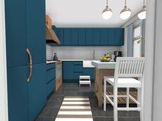 Need help planning a kitchen design? RoomSketcher shows you how to plan your kitchen with an online kitchen planner. Best Interior Design, Interior Design Inspiration, Design Ideas, Galley Kitchens, Luxury Kitchens, Mini Kitchen, New Kitchen, Kitchen Trends, Kitchen Ideas