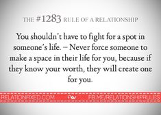 Really I don't think I'm worth all that much. But it doesn't matter. You…