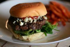 Blue Cheese and Balasamic Burgers