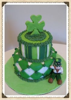 Cake Decorating St Patrick Day : St. Patrick s Day Cake available at Carolines Cakes St ...