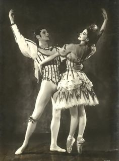 Margot Fonteyn and Michael Somes in Birthday offering.