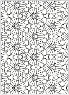 Creative Haven Terrific Tessellations Coloring Sheets Dover Publications