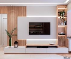 Living Room Partition Design, Room Partition Designs, Home Design Living Room, Living Room Decor, Modern Tv Room, Modern Tv Wall Units, Tv Unit Interior Design, Living Room Wall Units, Living Room Tv Unit Designs