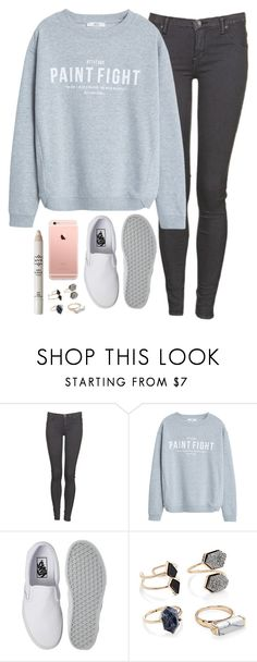 """Untitled #280"" by whovian-of-fashion ❤ liked on Polyvore featuring Dr. Denim, MANGO, Vans, Forever 21 and NYX"