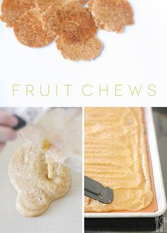 Homemade fruit chews only take 2 ingredients - healthy and the kids love em!