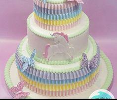 Perfect Ruffles Everytime! #ruffles #ruffleborder #cakes #cake #cakedecorating #cakedesign #caketools #ad