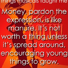 Things musicals taught me... - Hello, Dolly!