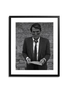 Gregory Peck in London by Sonic Editions on Gilt Home