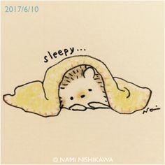 Sleepy …