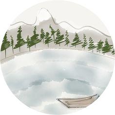 Nordic lake. Paper 53