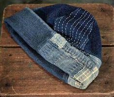 Hippy Fashion, Denim Fashion, Indigo, Boro Stitching, Repair Jeans, Denim Crafts, Denim Patchwork, Cool Fabric, Vintage Denim