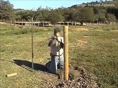 Como construir uma cerca eletrica agropecuaria - YouTube