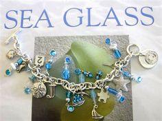 cool sea glass bracelet