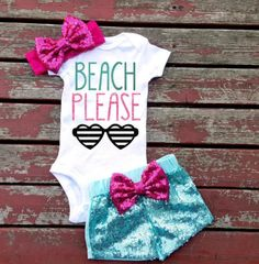 Browse unique items from GLITTERandGLAMshop on Etsy, a global marketplace of handmade, vintage and creative goods. Newborn Outfits, Baby Boy Outfits, Kids Outfits, Toddler Outfits, Toddler Girls, Cute Baby Girl, Baby Love, Baby Girl Fashion, Kids Fashion