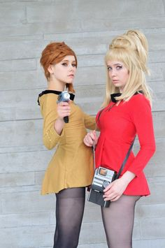 i would love to cosplay star trek. The only modification i would make would make the dress longer.