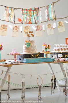 awesome bohemian, tribal, aztec, teepee, and rustic accents! Bohemian Party, Boho Chic, Party Decoration, Table Decorations, 1st Birthday Parties, 25th Birthday, Birthday Ideas, Bridal Shower Party, Baby Shower Gender Reveal