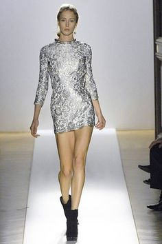 Balmain Fall 2007 Ready-to-Wear Fashion Show - Raquel Zimmermann