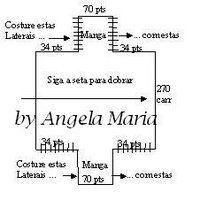 *Tear++e++Tricô++à++Máquina*+by+Angela+Maria:+Gráfico+do+Bolero+para+o+Tricô+à+Máquina