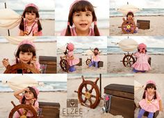 Meghan Pirate Session {Miami Child Photographer, Photography South Beach} Pirate Beach Session, Pirate photography session, Izzy