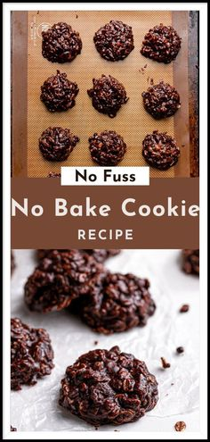 These No-Bake Cookies have been passed down my husband's family for 50 years! One pot and 10 minutes later, you have a beloved sweet treat! Best Chocolate Desserts, Fun Desserts, Vegetarian Chocolate, Chocolate Chip Cookies, Best No Bake Cookies, Fun Cookies, Sugar Cookies, Best Christmas Desserts, Impressive Desserts
