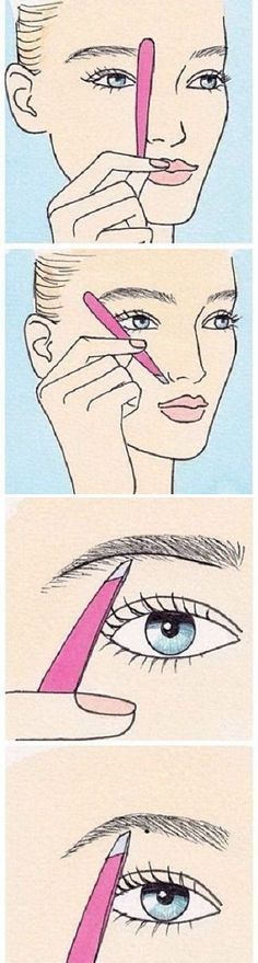 How to Shape Your Eyebrows – Step by Step Guide: