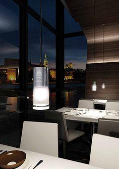 Pendant lamp / contemporary / PMMA / fluorescent - KUPP 6314