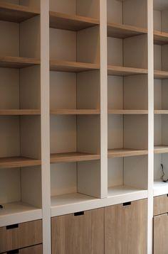 Kitchen Wall Units Bookshelves Ideas For 2020 Modern Bookcase, Desk Shelves, Bookcase Shelves, Shelving Units, Bookcases, Kitchen Corner Units, Kitchen Window Shelves, Kitchen Paint Schemes, Ikea Boys Bedroom