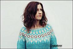 Ravelry: Telja pattern by Jennifer Steingass Jumper Patterns, Knitting Patterns, Knitting Ideas, Icelandic Sweaters, I Cord, Fair Isle Pattern, Knit In The Round, Alpaca Wool, Ravelry