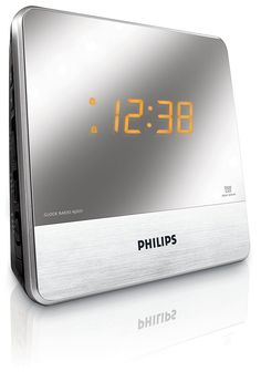 Philips AJ3231 Mirror Finish Clock Radio -- Click image to review more details. (This is an affiliate link and I receive a commission for the sales)