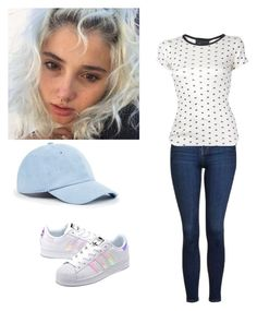 """""""Amanda//21 chump street//what the heck I gotta do?"""" by lilycobain2002 on Polyvore featuring Elle Macpherson Intimates, Topshop, Edith A. Miller, Sole Society and adidas Originals"""