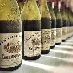 Tasting history... Domaine de la Charbonnière. #chateauneufdupape #wine by Jeb Dunnuck Chateauneuf Du Pape, Wine, Drinks, Bottle, Drinking, Beverages, Flask, Drink, Jars