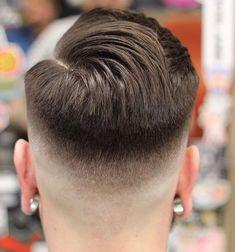 Modern Haircuts, Cool Haircuts, Haircuts For Men, High Skin Fade, Mens Fade Cuts, Short Hair Cuts, Short Hair Styles, Undercut, Comb Over Fade