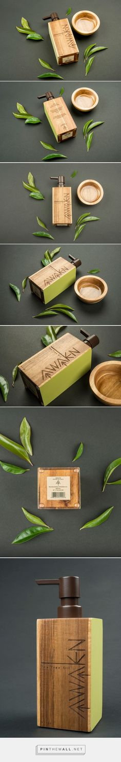 Awaken Essential Oils (Student Project) - Packaging of the World - Creative Package Design Gallery - http://www.packagingoftheworld.com/2016/11/awaken-essential-oils-student-project.html