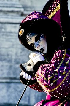 For more great pins go to Mardi Gras Carnival, Venetian Carnival Masks, Carnival Of Venice, Venetian Masquerade, Masquerade Ball, Venice Carnivale, Venice Mask, Venitian Mask, Martial